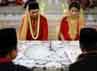 Pernikahan mereka memang digelar secara sederhana. (Foto: Dok Anji & Wina)
