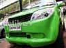 Mobil ini sempat mogok di kawasan Jl. Thamrin, Jakarta.
