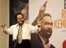 Dalam sambutannya, Surya Paloh menyatakan semua pemimpin harus pandai berpidato. Sambil bercanda, ia mengatakan pidato merupakan seni ngecap (dieja dengan kata dasar kecap, bukan cap) bagi seorang pemimpin.