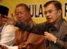 Saat menghadiri acara tersebut, Jusuf Kalla (JK) menyatakan tak akan meninggalkan Golkar.