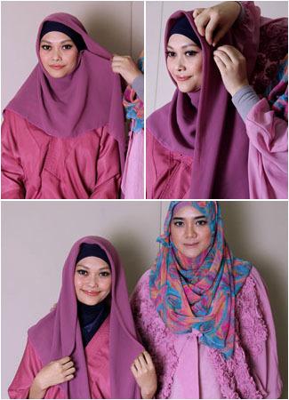 Tutorial Hijab untuk Tampilan Formal Saat ke Kantor 1