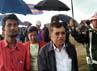 Ia didampingi oleh Menteri Urusan wilayah Perbatasan Myanmar Letnan Jenderal Thein Htay. (Dokumentasi JK)