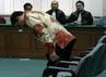 Soemarmo tiba di Pengadilan Tipikor, Jakarta, untuk mengikuti sidang vonis. (Ramses/detikcom).