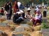 TPU Menteng Pulo, Jakarta Selatan, ramai didatangi oleh warga. (Ramses/detikcom).
