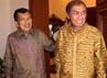 Ketua BPK Hadi Purnomo juga hadir dalam open house tersebut. (Ramses/detikcom).