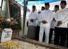 Fauzi Bowo melakukan ziarah ke makam KH Zainuddin MZ.
