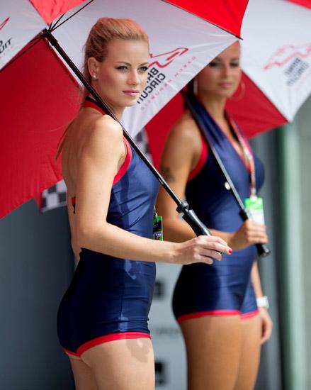 Bokong Seksi di Sirkuit MotoGP Ceko