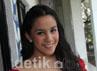 Angel Pieters saat ditemui usai acara DahSyat di Studio RCTI, Kebon Jeruk, Jakarta Barat, Jumat (14/9/2012). Gus Mun/detikHOT.
