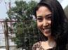 Dress leopard Ayu Dewi. Gus Mun/detikHOT.