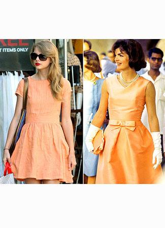 Terobsesi dengan Keluarga Kennedy, Taylor Swift Bergaya Mirip Jackie O 2