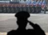 Seluruh perwakilan dari berbagai kesatuan TNI mengikuti gladi bersih peringatan HUT ke-67 TNI.