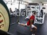 Disinilah para atlet pelatnas melatih kemampuan fisik.