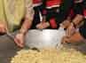 Peringatan ini sekaligus sebagai pencanangan gerakan minum susu, makan telor dan buah lokal serat dalam upaya penganekaragaman produk pangan olahan non beras dan non terigu sebagai bentuk kegiatan ketahanan pangan.  Raditya