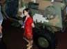 Suasana pameran Indo Defence itu tampak ramai pengunjung.