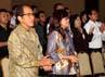 Ishadi SK juga hadir dalam Natal gabungan tersebut.