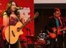 Berbagai hiburan dan lagu disuguhkan dalam acara itu.