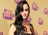 Katy Perry terlihat cantik dengan rambut hitamnya saat hadir di acara 2012 MTV Video Music Awards di Los Angeles, California pada 6 September lalu. Christopher Polk/Getty Images.