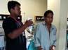 Seorang pasien menjalani perawatan di Rumah Sakit Umum Daerah (RSUD) Tarakan, Jakarta Pusat.