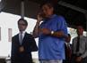 SBY mengintruksikan kepada seluruh jajaran TNI, Polri, NPB, Basarnas untuk melakukan bantuan pada masyarakat yang terkena dampak banjir. Dudi Anung/Setpres.