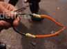 Ketapel panah yang digunakan pelaku tawuran. Pemicu tawuran diduga disebabkan dendam lama antar kampung.