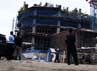 Proyek pembangunan gedung Manhattan berada di Jl TB Simatupang, Jakarta Selatan. Ramses/detikFoto.