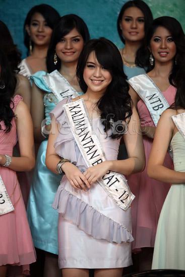 Para Finalis Miss Indonesia 2013