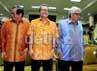 Dalam bedah buku tersebut hadir Ketua DPD Irman Gusman, Wakil Ketua DPR Pramono Anung dan Dekan FK UI Retno Sitompul.
