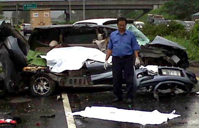 Kecelakaan Maut di Cipularang 5 Tewas