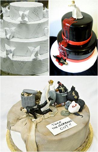 Saat Perceraian Dirayakan, Begini Bentuk Kue-kuenya 1