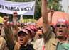 Mereka tergabung dalam Tenaga Honorer Lepas (THL) Tenaga Bantu Penyuluh Pertanian (TBPP).