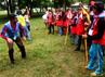 Para peserta mendengarkan arahan yang disampaikan pembina. Grandyos Zafna/detikFoto.