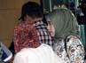 Syarifah Damiati Aida langsung masuk ke ruang pemeriksaan. Lamhot Aritonang/detikFoto.