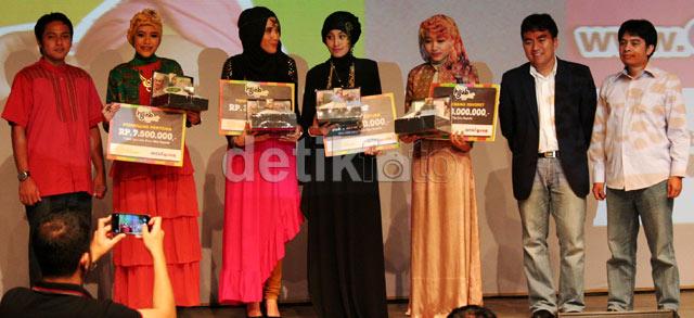 Ini dia pemenang Indosat Mentari Hijab Hunt 2013