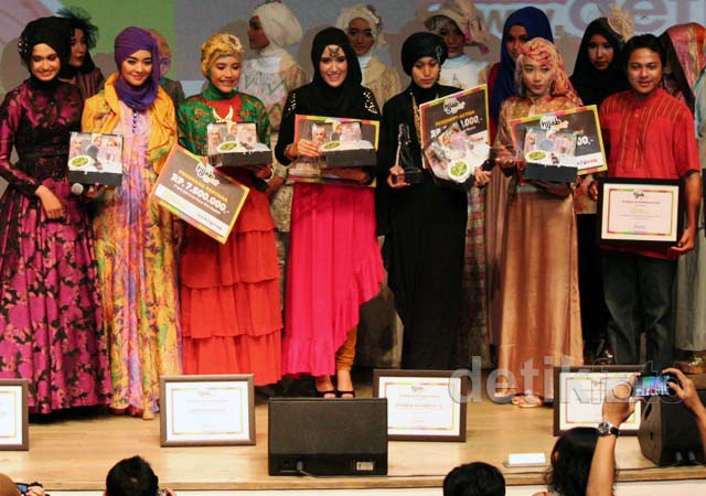 Show Your Style Night Indosat Mentari Hijab Hunt 2013