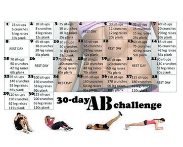 Abs Challenge, Tantangan Perut Rata dalam 30 Hari Jadi Tren di Instagram