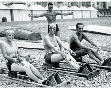 Bentuk-bentuk Peralatan Fitnes Vintage dari Era 20 dan 30-an