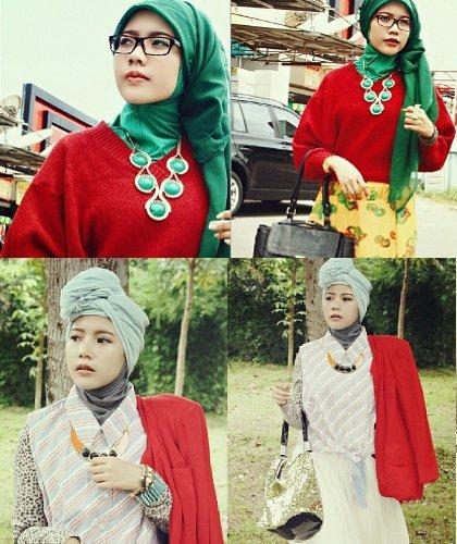 Hijab Style: Tampil Playful Ala Aisyah Haerani, Pemenang Hijab Hunt 2013 1