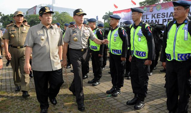 Apel Kesiapan Pengamanan Pemilu 2014