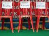 Panitia juga menyiapkan kursi khusus Gubernur Jatim Soekarwo, Wali Kota Tri Rismaharini dan Kepala Dinas Sosial Soepomo di atas panggung.