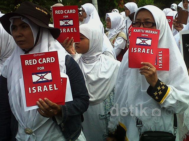 Kartu Merah untuk Israel