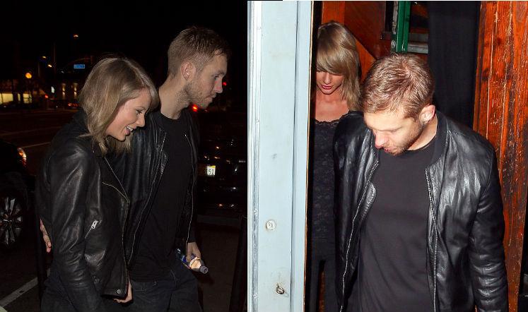 Foto: Nonton Konser Bersama, Calvin Harris dan Taylor Swift Makin Mesra 1