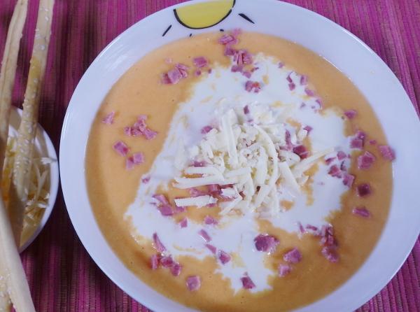 Resep Anak: Sup Krim Wortel