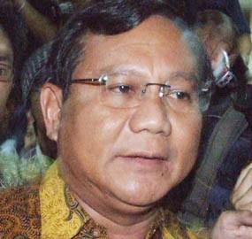 Prabowo Subianto Jadi Ketua Asosiasi Pedagang Pasar