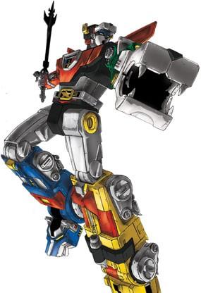 Robot Singa \Voltron\ Kembali Beraksi