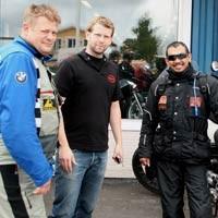 Disambut 350 Penjelajah Swedia, Jeffrey Lintasi Kutub Utara