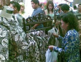 Batik Pasti Menang Lawan Tekstil China