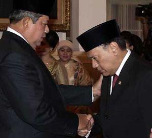 SBY Lantik Menkeu Baru