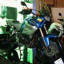 Jagoan Gurun Yamaha Sambangi Jakarta