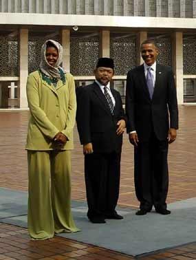 Obama Tulis Kesan dan Pesan untuk Masjid Istiqlal