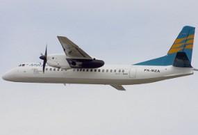 Pesawat Merpati Gagal Take Off di Kupang Ditarik ke Apron